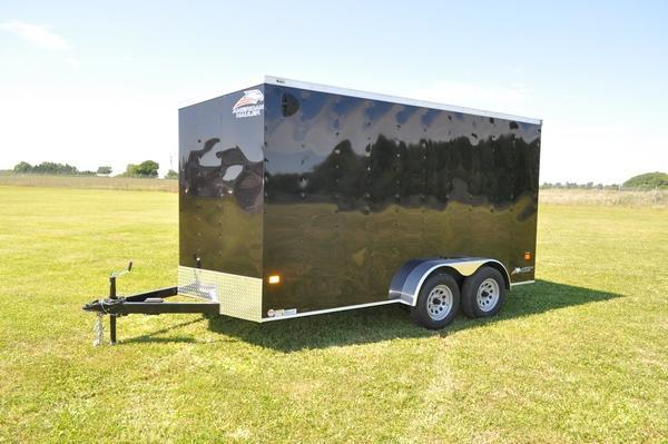 2021 American Hauler 7 x 14 Wedge Nose 7' Tall Enclosed Cargo Trailer For Sale