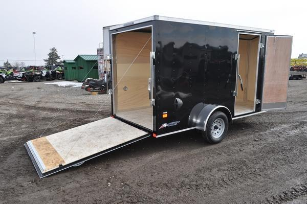 2020 American Hauler 6 x 12 Wedge Nose Enclosed Cargo Trailer For Sale