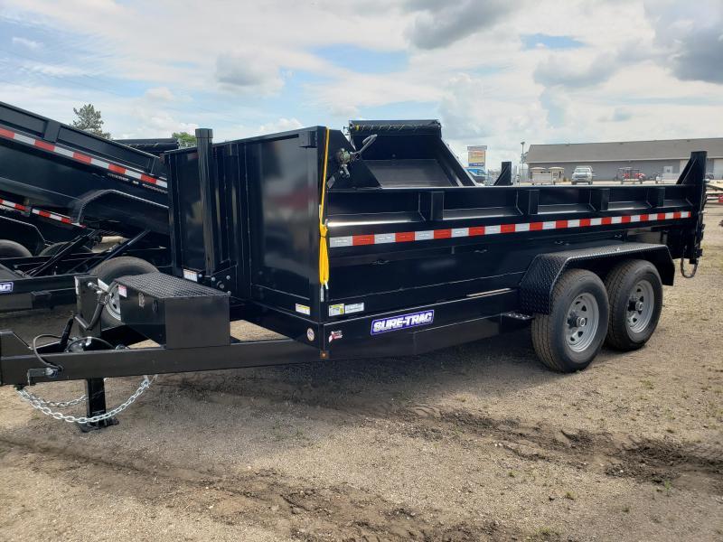2021 Sure-Trac  82x14 HD Low Profile  Dump Trailer For Sale.