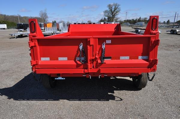 2021 Sure-Trac 6 x 10 SD Low Profile 10K Dump Trailer for Sale