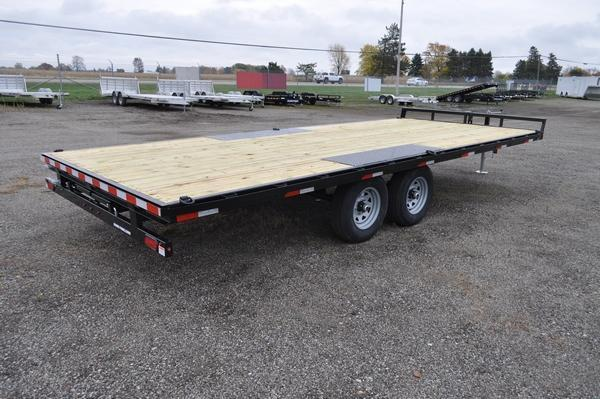 2021 Sure-Trac 8.5 x 20 Low Profile Flat Deck Deckover  For Sale