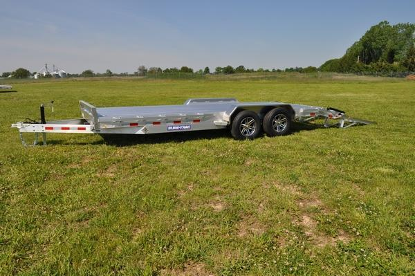 2021 Sure-Trac 7 x 22 All Aluminum 10K Car / Racing Trailer For Sale
