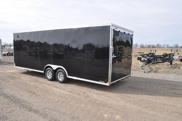 2021 Sure-Trac 8.5 x 24 Wedge Nose 10K Car / Racing Trailer For Sale
