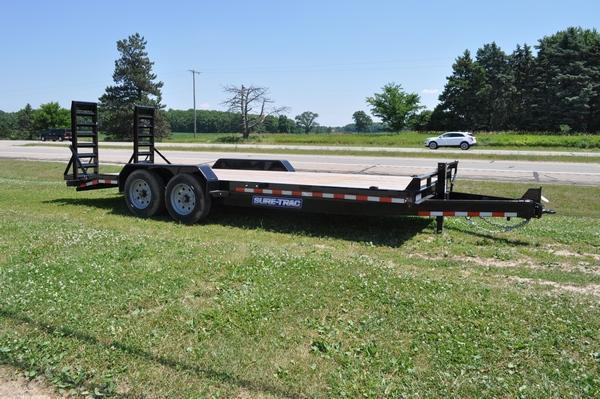 2020 Sure-Trac 7 x 20 H.D. 16K Equipment Trailer For Sale