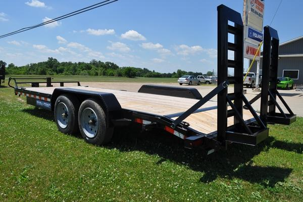 2020 Sure-Trac 7 x 20 H.D. 16K Equipment Trailer For Sale