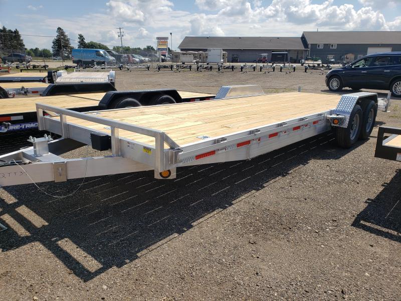 2022 Quality Aluminum 7x24  Car / Racing Trailer For Sale.