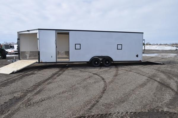 2022 Haul-it 7.5 x 31 All Aluminum Snowmobile Trailer For Sale