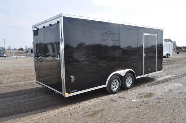 2021 Sure-Trac 8.5 x 20 Wedge Nose 10K Car / Racing Trailer For Sale