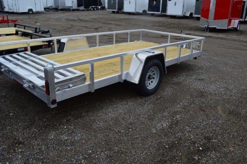 "2021 All Aluminum 80"" x 14' Single Axle Utility Trailer For Sale"