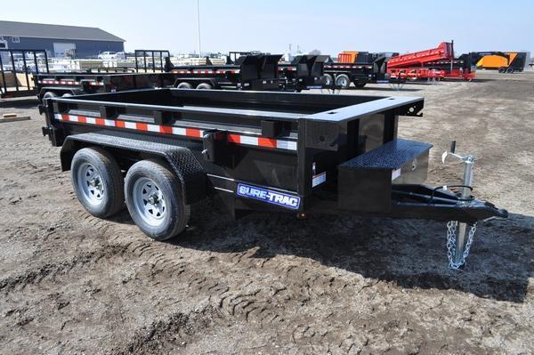 2021 Sure-Trac 5 x 10 Low Profile Homeowner Dump Trailer For Sale