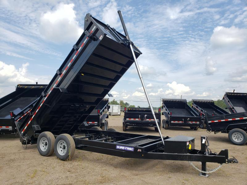 2021 Sure-Trac  82x16 Dump Trailer For Sale