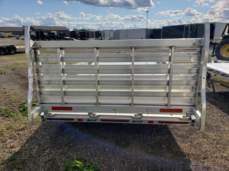 2020 Triton  7x20 Aluminum Utility / SXS Trailer For Sale. Utility Trailer