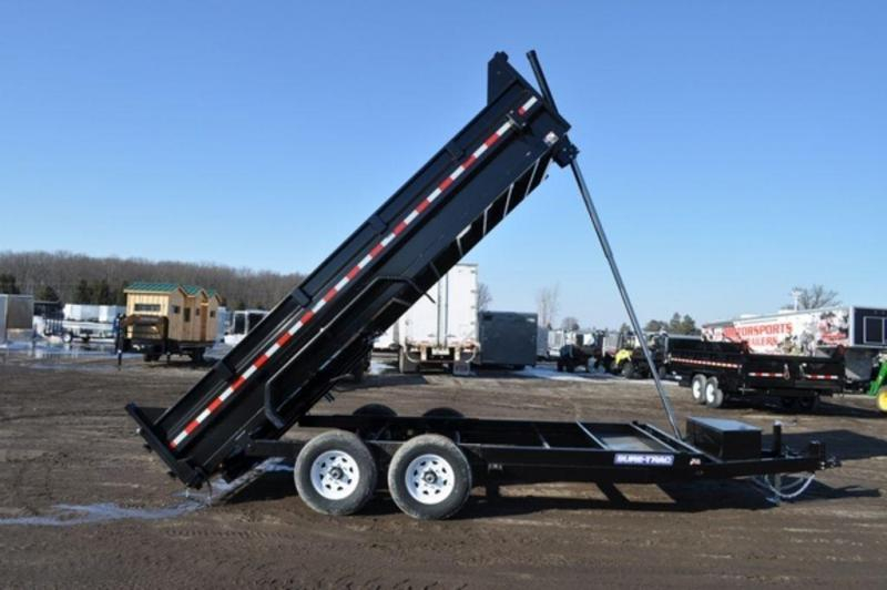 "2019 Sure-Trac 82"" x 16' Telescopic Dump Trailer For Sale"
