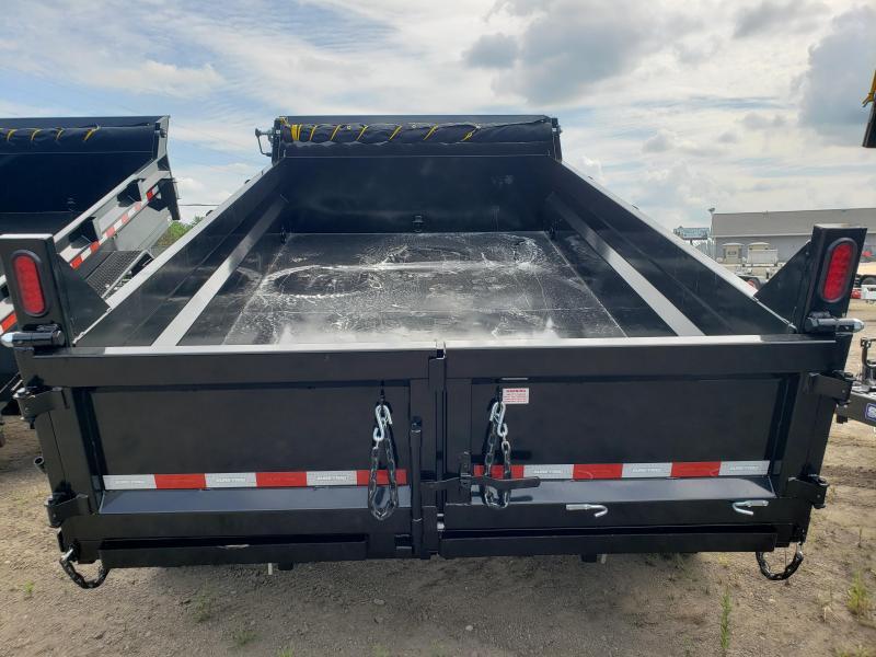 2021 Sure-Trac 82x12 HD Low Profile Dump Trailer For Sale