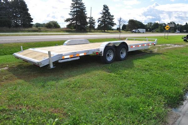 "2021 Haul-it 82"" x 24' Open All Aluminum Car / Racing Trailer For Sale"
