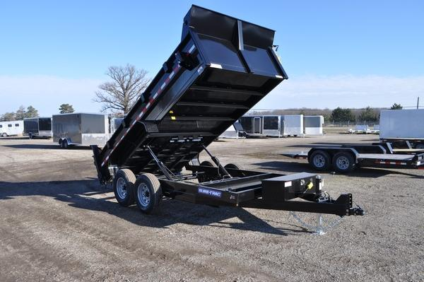 2021 Sure-Trac 82 IN x 14 HD Low Profile Dump Trailer For Sale