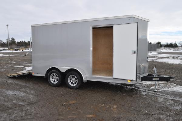 2020 Sure-Trac 7 x 14 Wedge Nose Enclosed Cargo Trailer