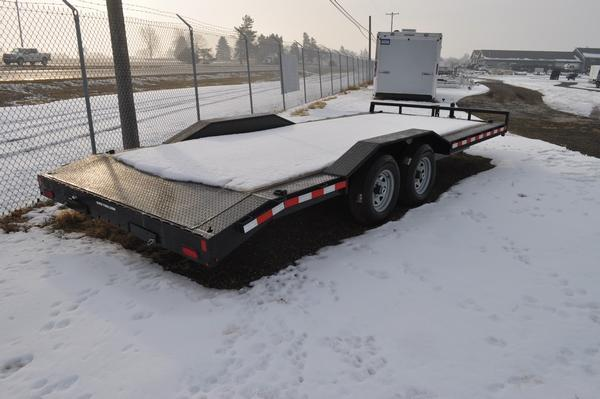 2021 Sure-Trac 8.5 x 20 (18+2) Full-Width Equipment Trailer for Sale