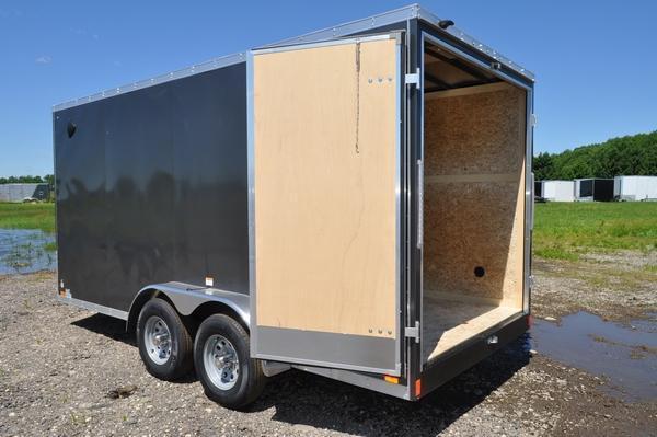 2021 Haul-it 7 x 16 Heavy Duty 10K Gross Enclosed Cargo Trailer For Sale