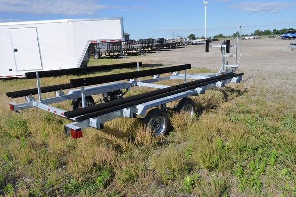 2021 Genesis Galvanized Tandem Axle 20' Float On Watercraft Trailer For Sale