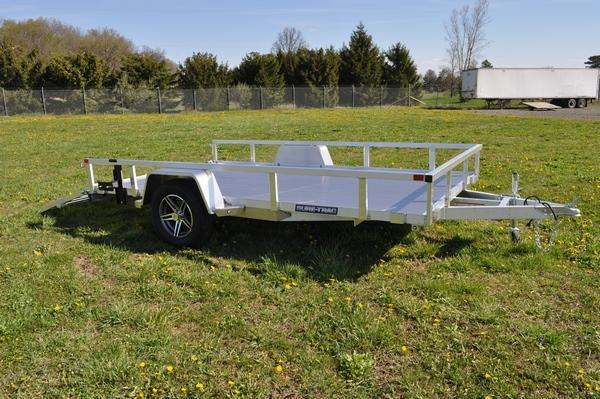 2021 Sure-Trac 7 X 12 Aluminum Tube Top Utility  3K For Sale