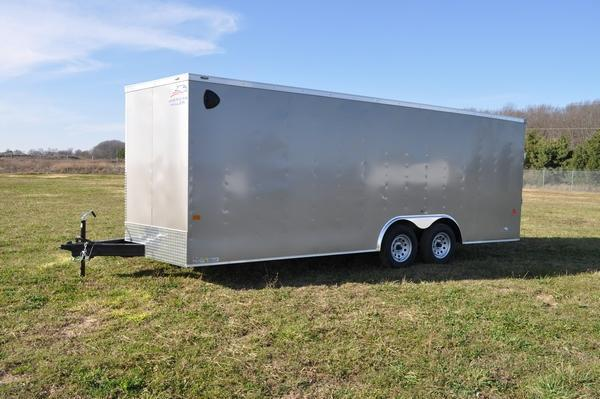 2021 American Hauler 8.5 x 20 Wedge Nose Car / Racing Trailer For Sale