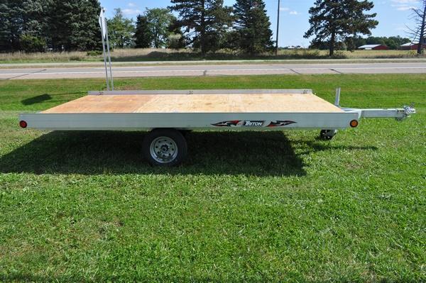 2020 Triton All Aluminum Side Load ATV128 Utility Trailer For Sale