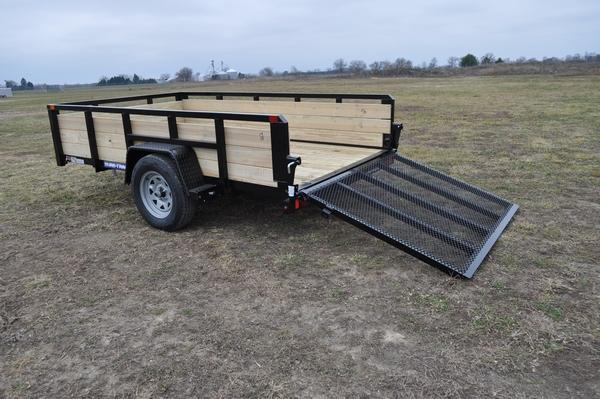 2021 Sure-Trac 6 x 10 Tube Top Three Board Trailer For Sale