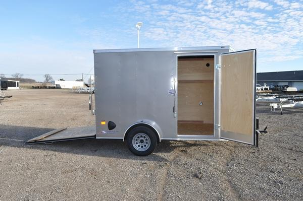 2021 American Hauler 6 x 10 Wedge Nose Enclosed Cargo Trailer For Sale