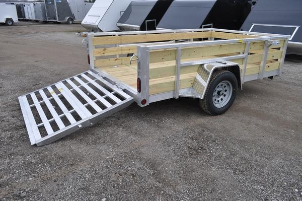 2021 Haul-it 6 x 10 3 Board High All Aluminum Utility Trailer For Sale