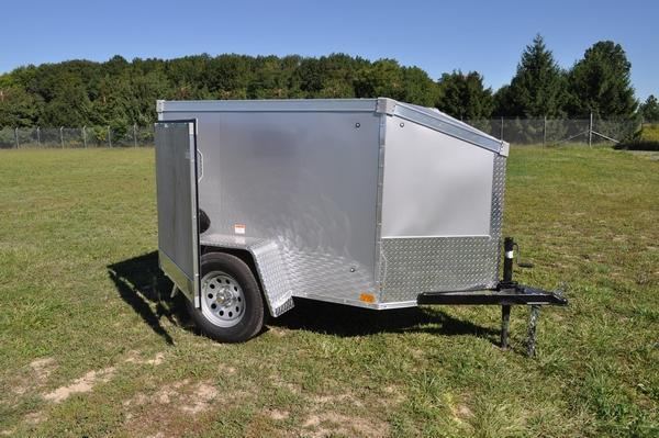 2021 Stealth Trailers 4 x 6 Wedge Nose Enclosed Cargo Trailer For Sale