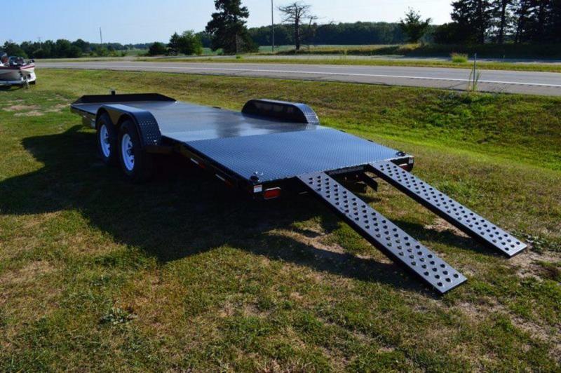 "2019 Sure-Trac 82"" x 20' Steel Deck Car Trailer For Sale"