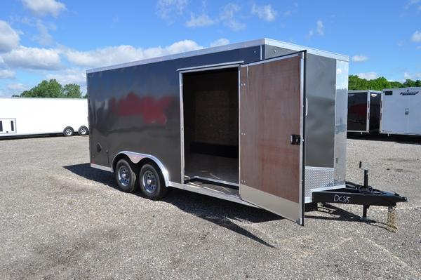 2021 Haul-it 8.5 x 16 Wedge Nose Heavy Duty 10K Enclosed Cargo Trailer For Sale