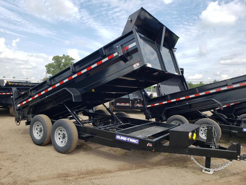 2021 Sure-Trac ST8212DD-B-140 Dump Trailer