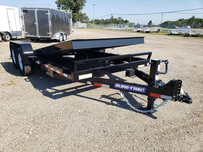2021 Sure-Trac  Flatbed Tilt  Trailer for sale