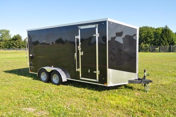 2020 Stealth Trailers 7 x 16 Wedge Nose 7' Tall Enclosed Cargo Trailer For Sale