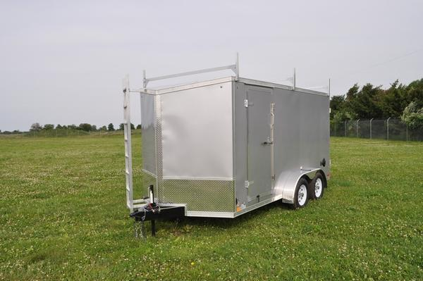 2022 Haul-it 7 x 14 Wedge Nose Enclosed Cargo Trailer For Sale