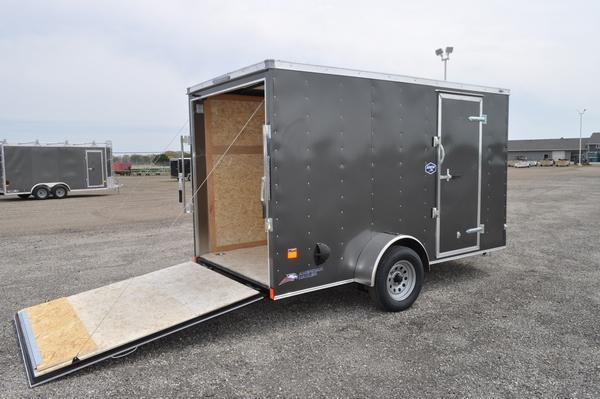 2021 American Hauler 6 x 12 Wedge Nose Enclosed Cargo Trailer For Sale