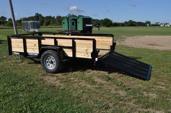 2020 Sure-Trac 5 x 10 3 Board High Utility Trailer For Sale