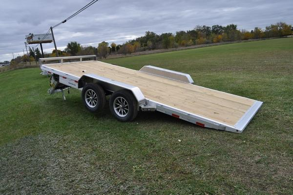 2021 Sure-Trac 82 x 18 Electric Aluminum Tilt Car Trailer for Sale