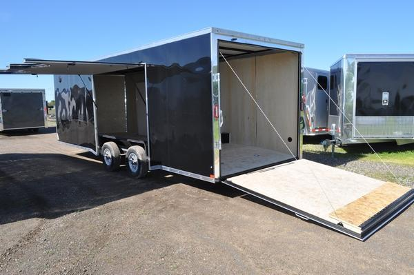 2020 Haul-it 8.5 x 24 Enclosed Car / Racing Trailer W/Full Escape Door For Sale