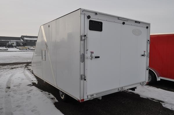 2020 Sport Haven 101 x 13' Deluxe Hybrid 2 Place Snowmobile Trailer For Sale