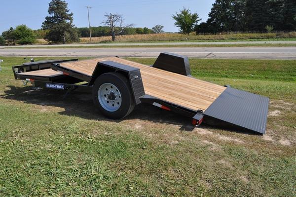 2020 Sure-Trac 78 x 12 + 4 Tilt Bed Equipment  10K Trailer for Sale