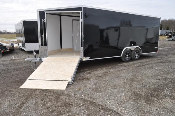 2021 Stealth Trailers All Aluminum 8.5 x 20 + 5 Drive On/Off Combo Car / Racing Trailer