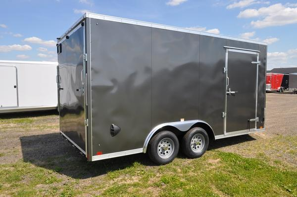 2021 Haul-it 8.5 x 16 Wedge Nose Enclosed Cargo Trailer For Sale