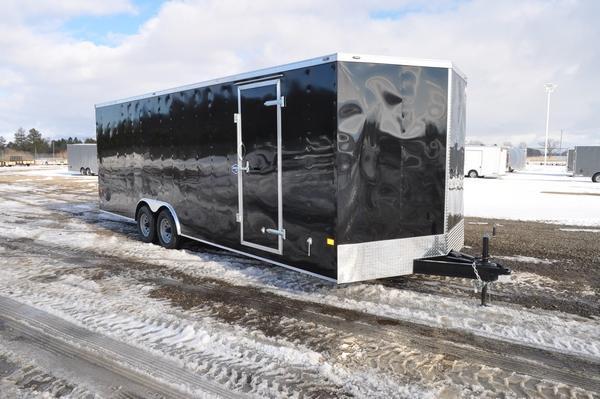 2021 American Hauler 8.5 x 24 Wedge Nose Car / Racing Trailer For Sale