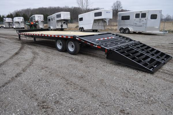 2021 Sure-Trac 8.5 x 20+5 Heavy Duty Low Profile Deckover Trailer for Sale