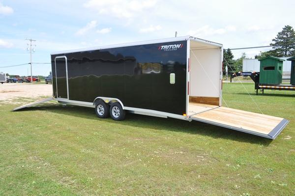 2020 Triton 8.5 x 24 + 5 Snowmobile Trailer For Sale