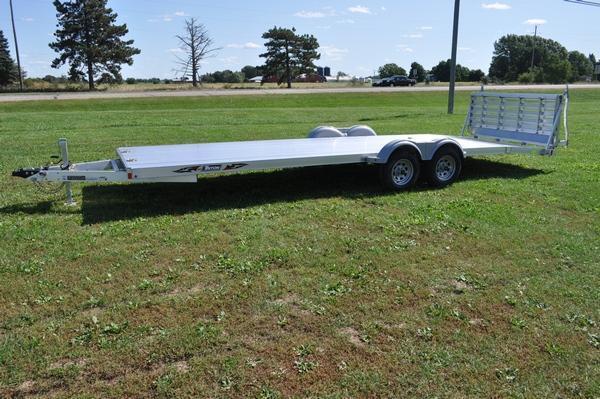 2020 Triton 82 x 24' All Aluminum Open Utility Trailer For Sale