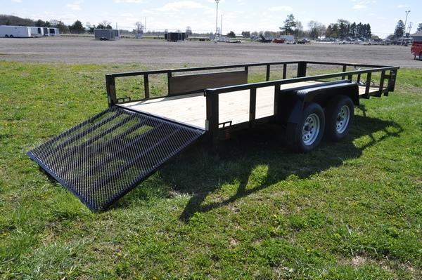 2022 Haul-it 7 x 16 Open Utility Trailer For Sale